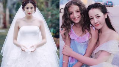 Khi mỹ nữ Tân Cương cùng diện áo cưới: Địch Lệ Nhiệt Ba và Cổ Lực Na Trát ai đẹp hơn?