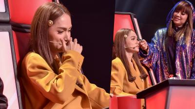 Lý do gì khiến Hương Giang bật khóc nức nở ngay giữa chương trình 'The Voice Kids'?