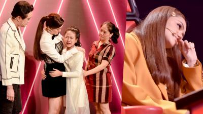 Hương Giang than thở 'qua mỗi vòng The Voice lại già đi một tuổi', Phạm Quỳnh Anh khiến cả khán đài cùng khóc