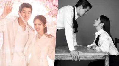 Vừa tung ảnh cưới đẹp như mơ, Jang Nara và 'ông xã' Lee Sang Yoon lại xa cách trong bộ ảnh mới