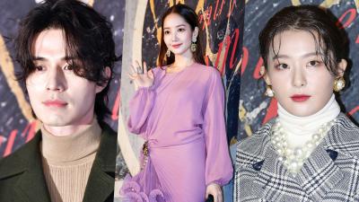 Sự kiện quy tụ dàn sao hot: 'Thần Chết' tiều tụy nhưng nổi bật, Seulgi bị Park Min Young, Lee Sung Kyung lấn át
