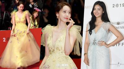 Qua rồi cái thời 'giữ kẽ', Yoona nay đã chịu o ép vòng một, lấn át cả Hoa hậu Hàn Quốc