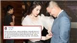 Gửi lời chúc cho vợ nhân ngày 20/10, Công Vinh khiến Thủy Tiên nổi da gà vì 'sến trường tồn, sến bất diệt'