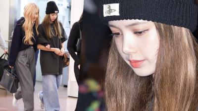 Chi sương sương 1 tỷ 2 ăn diện ra sân bay nhưng rồi Lisa vẫn bị chê mặc đồ lùng bùng, dìm dáng