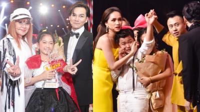 MC Nguyên Khang công bố nhầm tên Quán quân The Voice Kids, học trò Hương Giang khóc như mưa