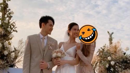 Đoán xem: Nhân vật nào dám 'cả gan' hôn cô dâu Đông Nhi ngay trước mặt chú rể Ông Cao Thắng?