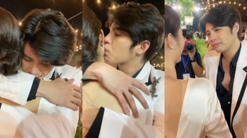 Noo Phước Thịnh khóc nức nở, vừa hôn má Đông Nhi vừa dặn dò: Phải thật hạnh phúc đấy!