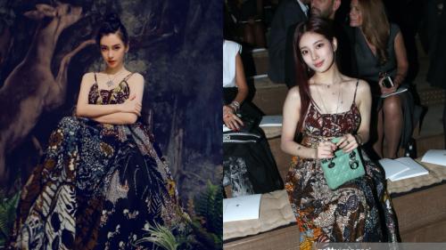 Chiếc váy bị chê giống đồ ngủ: Angelababy mặc lên như nữ thần, Suzy lại chẳng khác gì diện đầm bầu