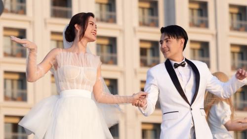 Ông Cao Thắng - Đông Nhi tung MV 'Yêu là cưới': Hé lộ những khoảnh khắc chưa từng công bố trong đám cưới
