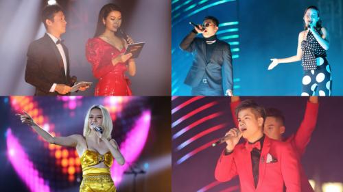 'Vũ khúc ánh sáng - Countdown 2020': Thiều Bảo Trang, Lưu Hương Giang, Đinh Mạnh Ninh 'quẩy tung' đêm nhạc kết năm