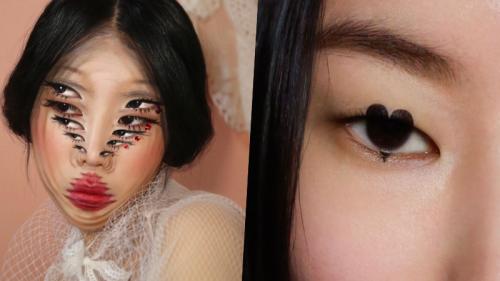 'Ảo thuật gia makeup' Dain Yoon gợi ý kiểu trang điểm mắt trái tim 'giật spotlight' ngày Tết
