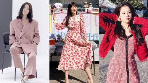 Bạn học 12 ý tưởng diện đồ hồng từ sao nữ Hàn thì Valentine chỉ xinh và sang chứ không có chuyện sến