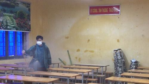 Vĩnh Phúc: Nơi có nữ sinh dương tính với virus corona, học sinh toàn trường sức khỏe hoàn toàn bình thường