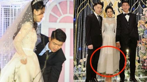 Chỉ 1 bức ảnh chụp cùng Đức Phúc mà cô dâu Quỳnh Anh để lộ điểm đặc biệt ở chiếc 'váy cưới cổ tích'