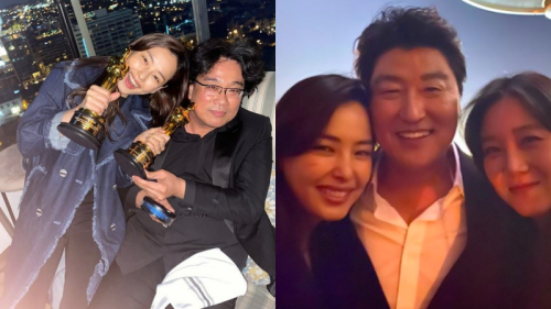 Chúc mừng dàn cast Parasite nhận giải Oscar, Gong Hyo Jin và Hoa hậu Hàn đẹp nhất lịch sử bị chỉ trích 'hám fame'