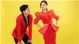 Quách Ngọc Tuyên diện vest lịch lãm, Hoàng Yến Chibi xúng xính váy áo 'xinh hết nấc' trong bộ ảnh chào Valentine