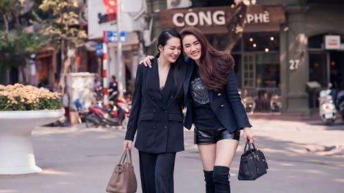Hương Baby đọ sắc bên Trang Nhung, chia sẻ suy nghĩ bất ngờ sau những lần bị so sánh với bạn thân