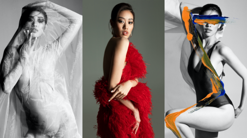 Hoa hậu Khánh Vân khoe đường cong nóng bỏng mắt trong bộ ảnh kể câu chuyện về chính mình