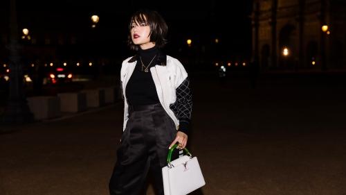 Châu Bùi lột xác chất chơi khi dự show Louis Vuitton tại Paris Fashion Week