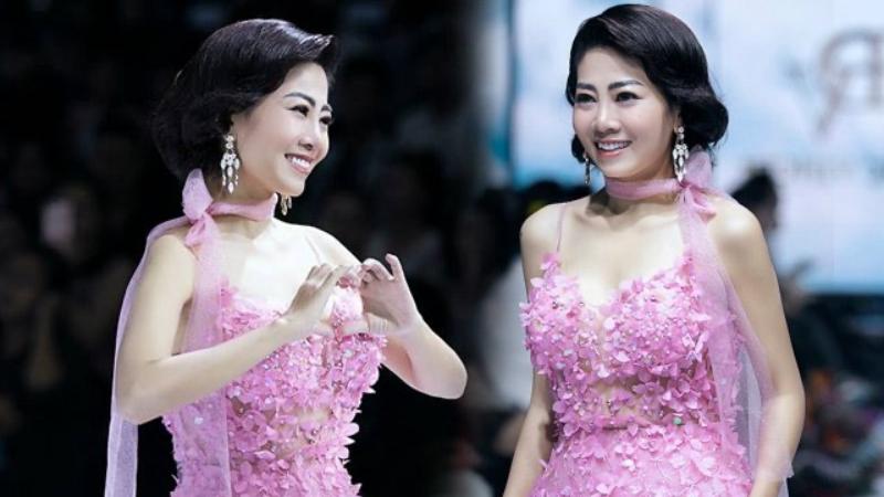 Chiếc váy Mai Phương từng catwalk được trả giá 110 triệu đồng