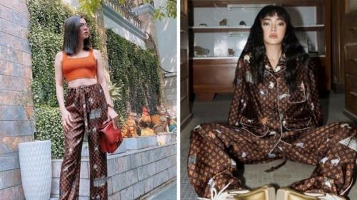Châu Bùi, Bảo Thy, Lệ Quyên cùng mê đắm bộ pyjama gần 100 triệu đồng