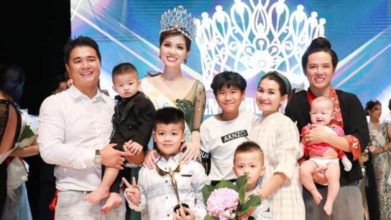 Hoa hậu nhiều con nhất showbiz Việt: 6 lần sinh nở vẫn chưa mặc áo cô dâu
