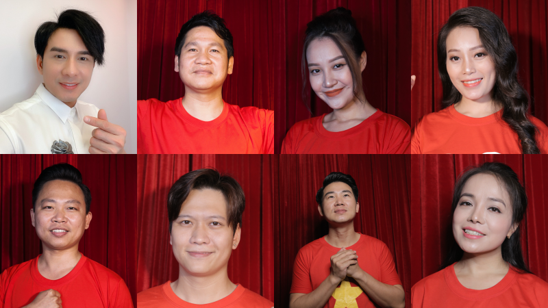 Đan Trường, Thu Thủy, Tuấn Hồ cùng 37 ca sĩ cùng thể hiện bài hát 'Đồng lòng Việt Nam'