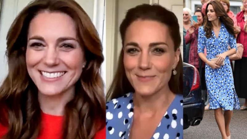 Công nương Kate ở nhà cách ly vẫn mặc đẹp ngút ngàn, đáng chú ý là màn 'tiết kiệm một cách thông minh' đáng khen ngợi