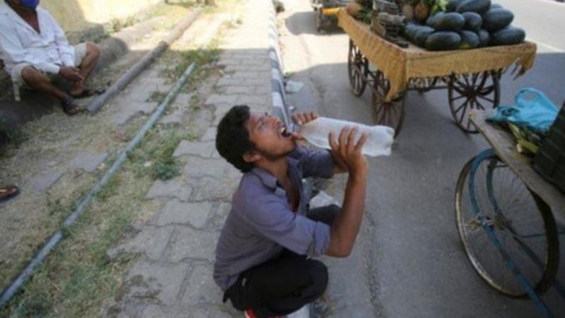 Ấn Độ ghi nhận đợt nắng nóng 50 độ C