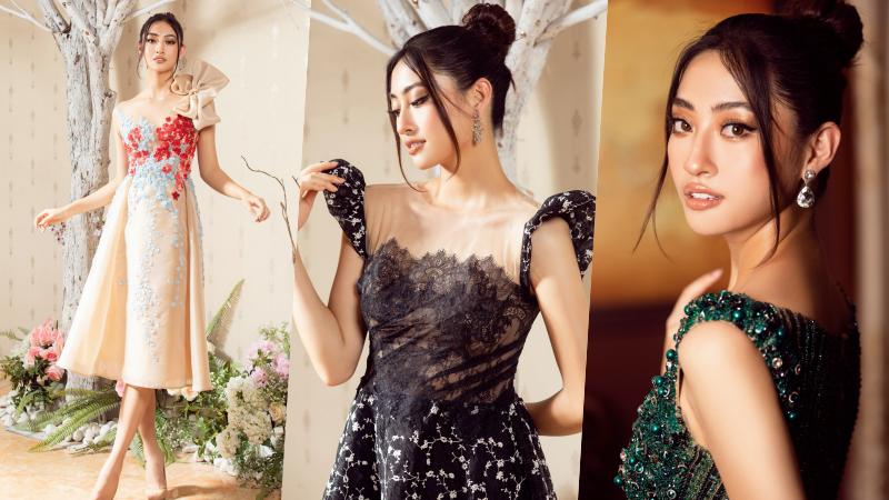 Ngắm '360 độ' quyến rũ của Hoa hậu Lương Thùy Linh