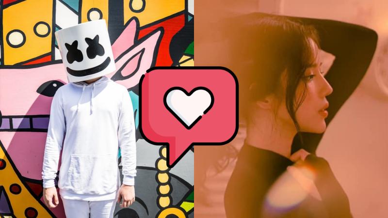 DJ Marshmellow 'thả thính' công khai LyLy '24h'