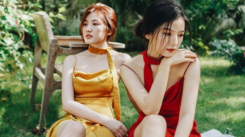 Phản ứng của 'mỹ nhân phim VTV' Hạ Anh - Lương Thanh trước nghi vấn tình yêu đồng giới