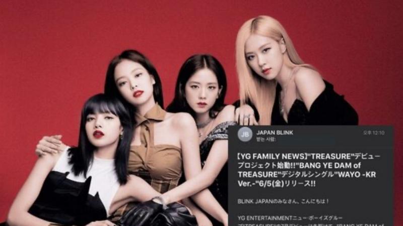 Đỉnh điểm về việc 'làm ăn sống nhăn' từ YG: Quảng cáo 'ké' sản phẩm của Treasure trong… fanclub trả phí của BlackPink