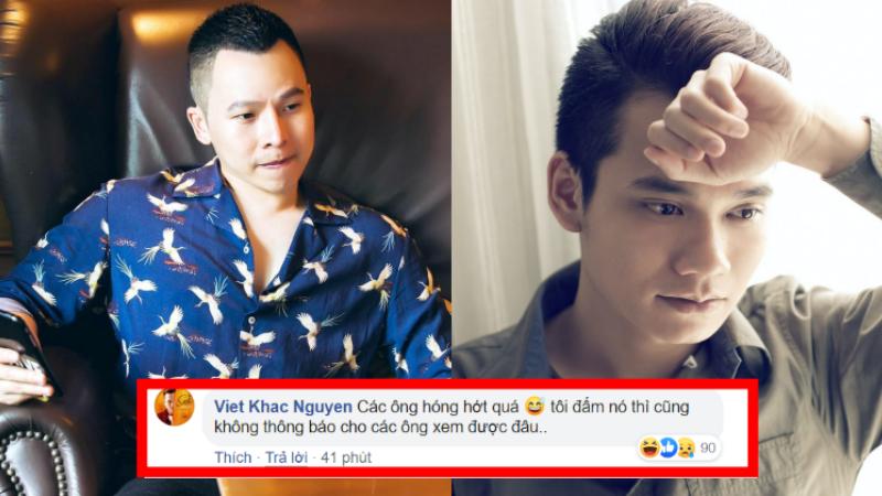 Khắc Việt tuyên bố có đấm Vũ Khắc Tiệp cũng sẽ không thông báo