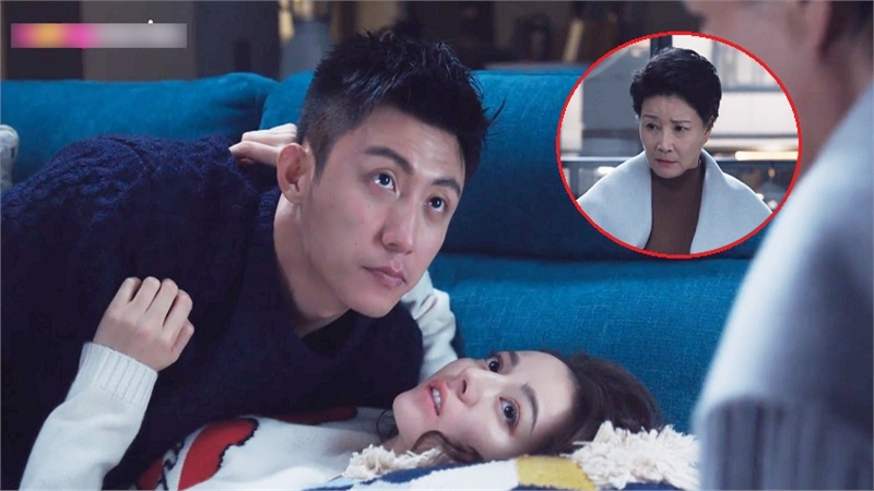 'Hạnh phúc trong tầm tay' tập 29-30: Hoàng Cảnh Du và Địch Lệ Nhiệt Ba bị mẹ bắt quả tang khi đang 'mây mưa'