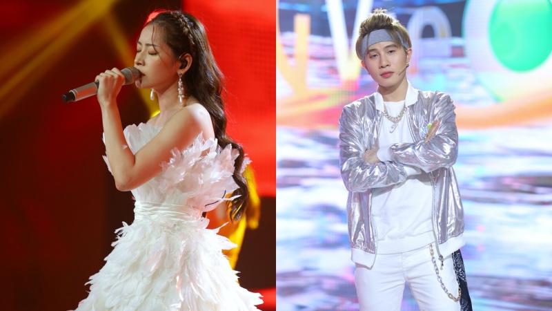 Lần đầu tiên, Jack và Chi Pu thể hiện bản live ca khúc mới của mình trên sân khấu lớn