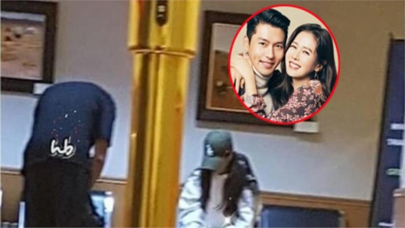 Dân tình phát sốt trước khoảnh khắc cực hiếm của Son Ye Jin và Hyun Bin trong phòng chờ máy bay