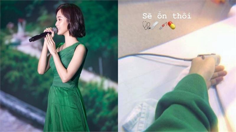 'Thánh nữ bolero' Jang Mi bất ngờ đăng ảnh nhập viện lúc nửa đêm khiến fan lo lắng