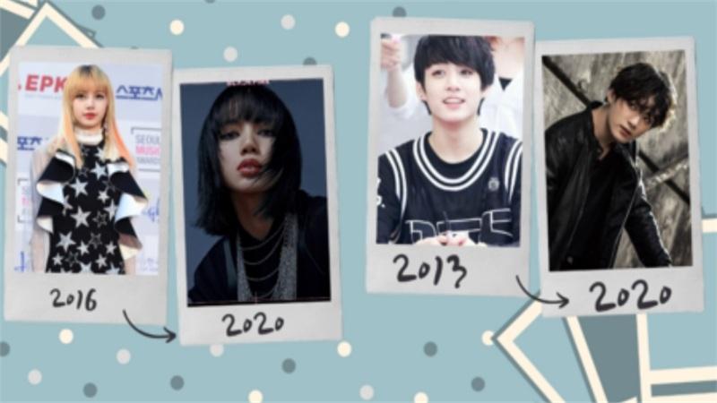 Lisa (BlackPink), Jungkook (BTS) và loạt em út của các nhóm nhạc nổi tiếng đã thay đổi thế nào sau nhiều năm debut?