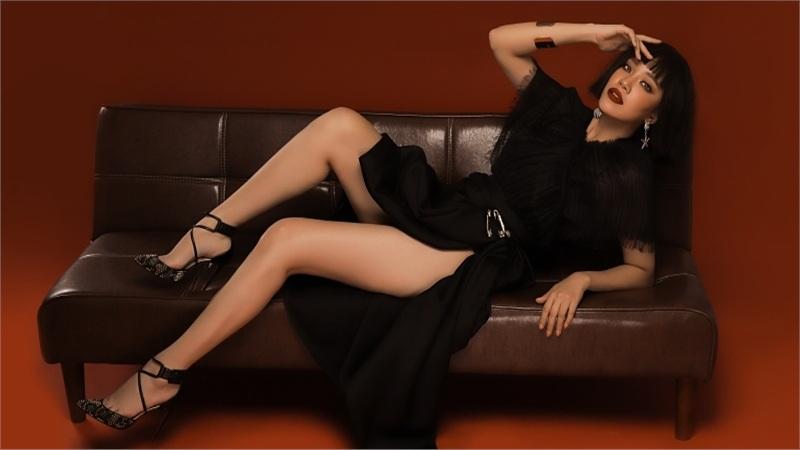 Á hậu Kim Duyên bất ngờ 'xuống tóc' trong bộ ảnh mới