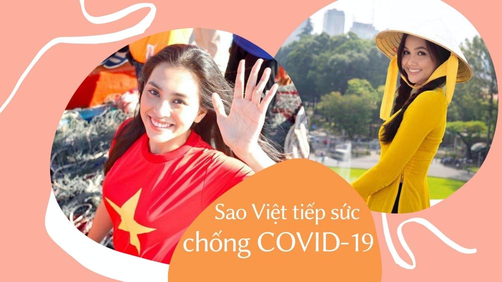 Tiểu Vy quyên góp 200 triệu đồng, chung tay cùng Trung Quân, H'Hen Niê và nhiều sao Việt 'tiếp sức' Đà Nẵng - Quảng Nam chống dịch
