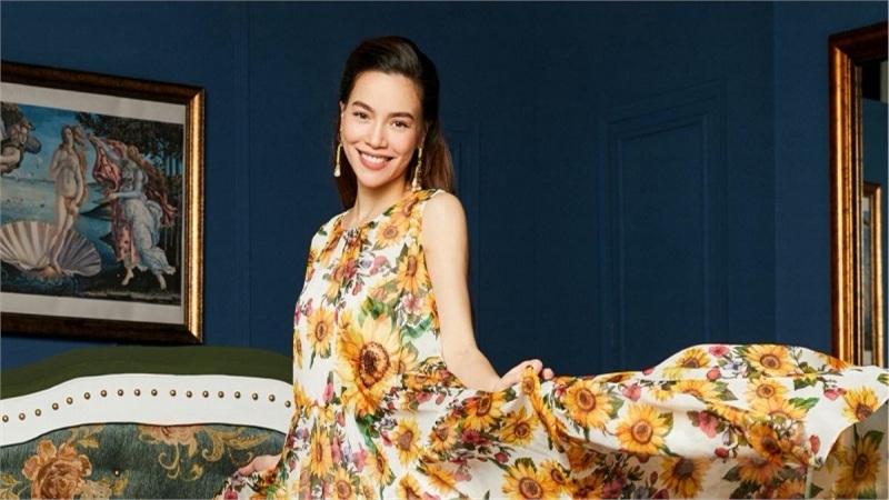 Dù mang bầu, Hồ Ngọc Hà vẫn xứng danh 'nữ hoàng thời trang'