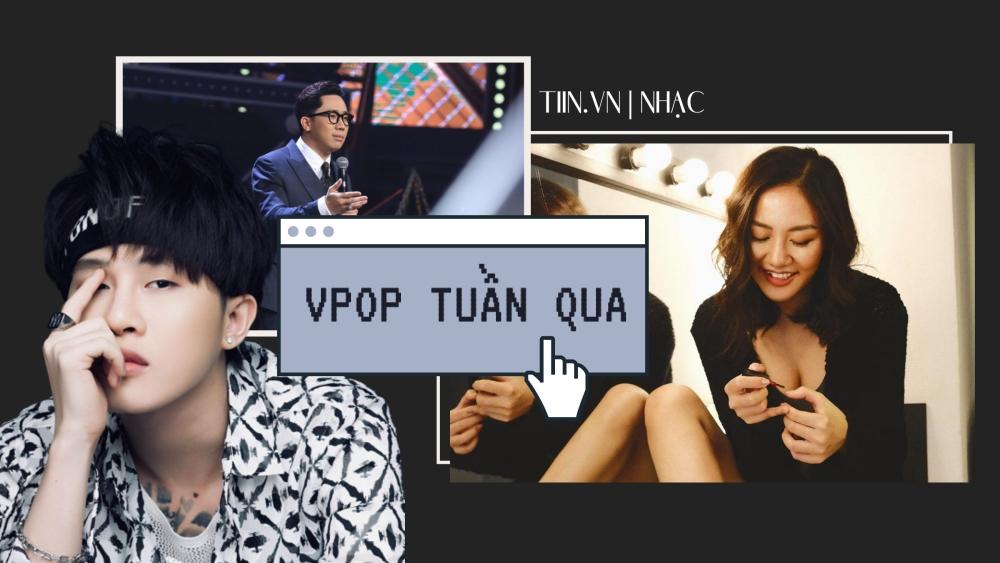 Vpop tuần qua: Văn Mai Hương nhận lỗi, Jack khiến fan 'nản lòng', Trấn Thành gây tranh cãi khi làm MC Rap Việt