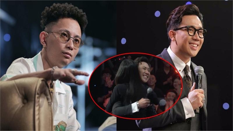 Rhymastic 'tức giận' đổi chỗ với Wowy vì giành thí sinh hời hợt, Trấn Thành cười tít mắt khi được Suboi ôm