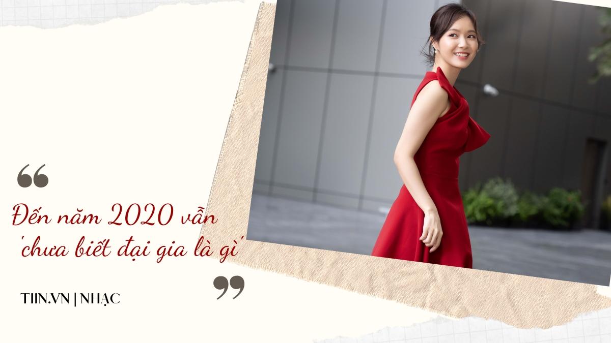 Jang Mi: Đến năm 2020 vẫn 'chưa biết đại gia là gì'