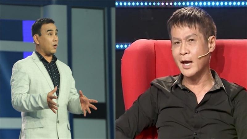 MC Quyền Linh bị đạo diễn Lê Hoàng chỉnh đốn cách dùng từ trên truyền hình