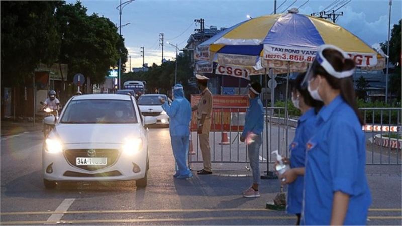 Thành phố Hải Dương dừng hoạt động tất cả các chốt kiểm soát dịch COVID-19