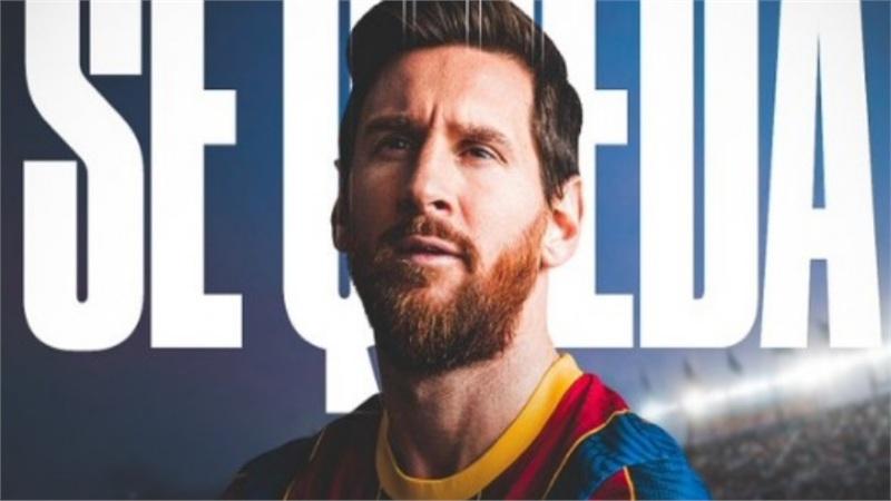 NÓNG: Rộ thông tin Messi đã xác nhận ở lại Barcelona