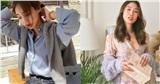 8 'chiêu trò' diện cardigan hờ hững, buông lơi học từ gái Hàn đến gái Pháp chuẩn chỉnh cho ngày hanh hao gió mùa