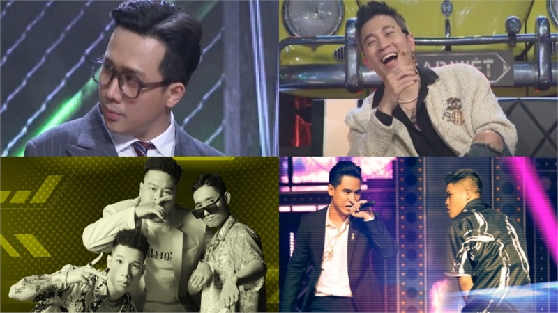 'Rap Việt' tập 8: Trấn Thành muối mặt vì nhầm tên thí sinh, Karik bị 'trách tập thể' khi 'ra đề' quá khó